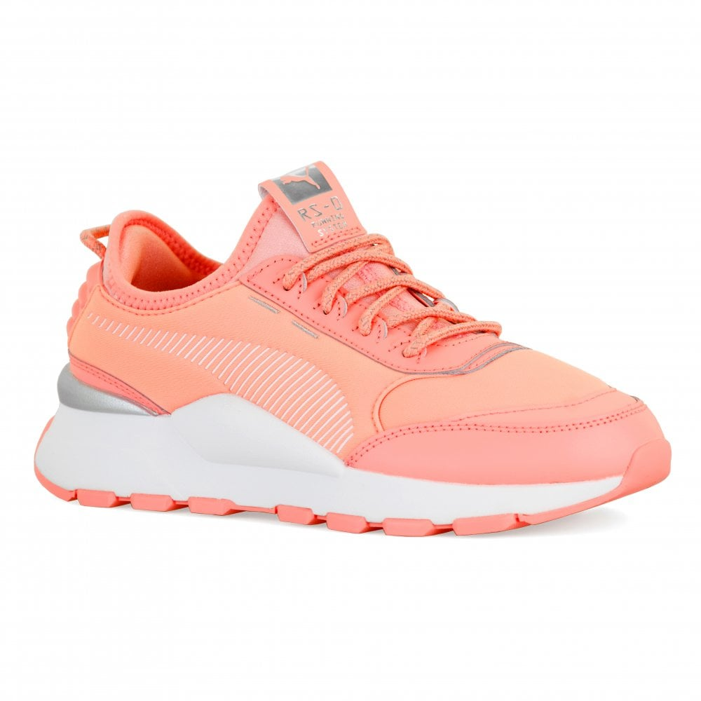 a1f37f2aecf Youths RS-O Trophy Trainers (Peach)