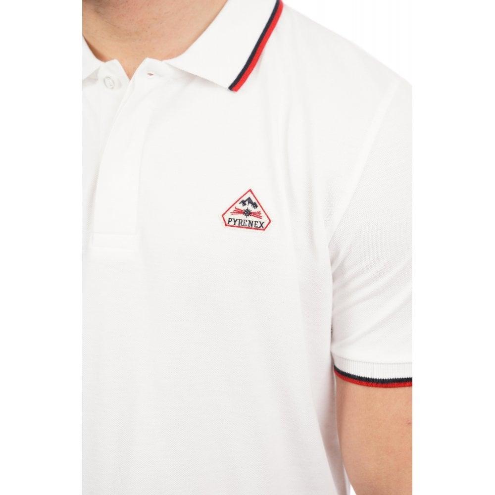 Navy Pyrenex Mens Lionel Polo Shirt