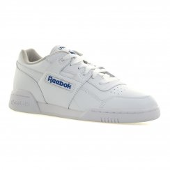 Reebok Mens Classic Workout Plus Trainers (White)