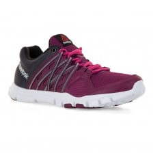 Reebok Womens Yourflex 316 Trainette Trainers (Berry)