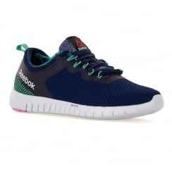 Reebok Womens Zquick Lite 116 Trainers (Beacon/Teal/White/Pink)
