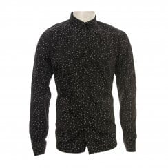 Religion Mens Directed Long Sleeve Shirt (Black)