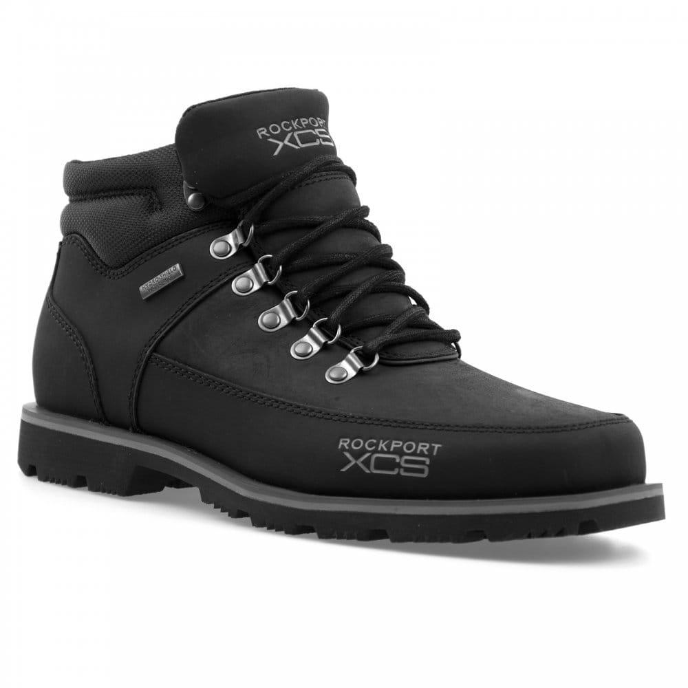 rockport rockport mens xcs mudguard boots black