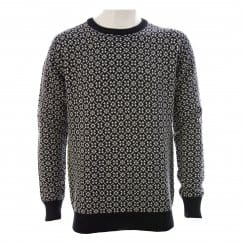 Scotch & Soda Mens Micro Knit Sweater (Black)