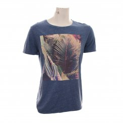 Scotch & Soda Mens Photoprint T-Shirt (Blue)