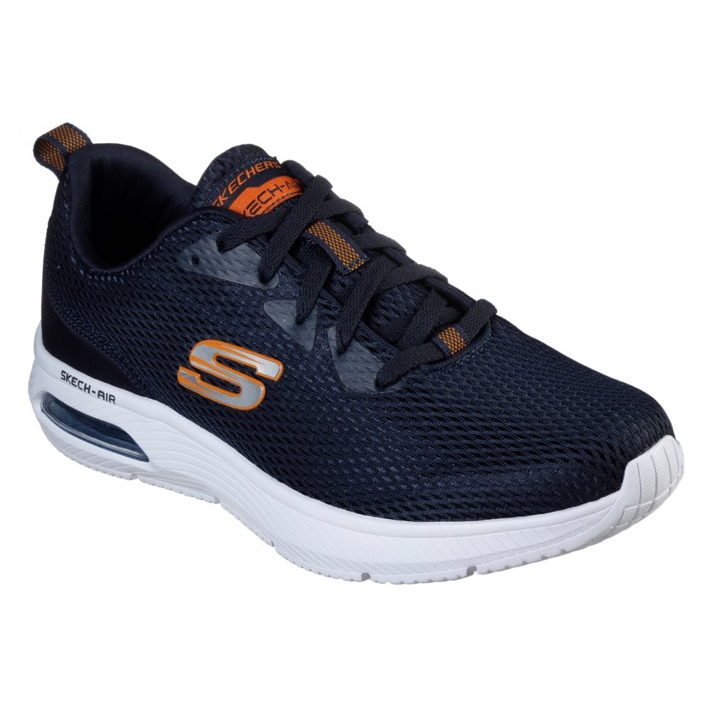 Skechers Mens Dyna-Air Trainers (Navy