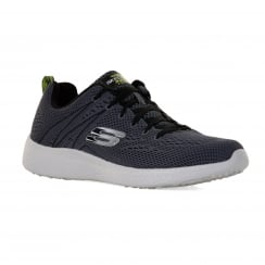 Skechers Mens Energy Burst Second Wind Trainers (Charcoal)