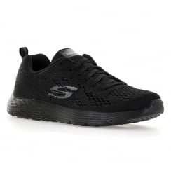 Skechers Womens Backstage 316 Trainers (Black)