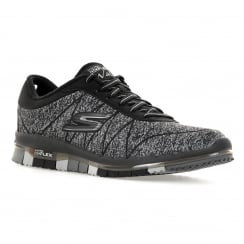 Skechers Womens Go Flex Ability 316 Trainers (Black)