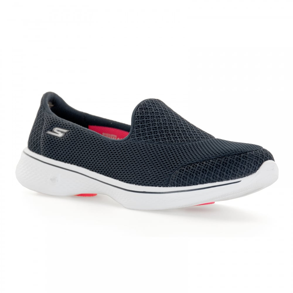 2b6bf3b26762 Skechers Womens Go Walk 4 Trainers (Navy) - Womens from Loofes UK