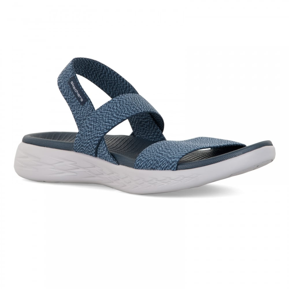 Skechers Womens On The Go 600 Ideal Sandals Navy
