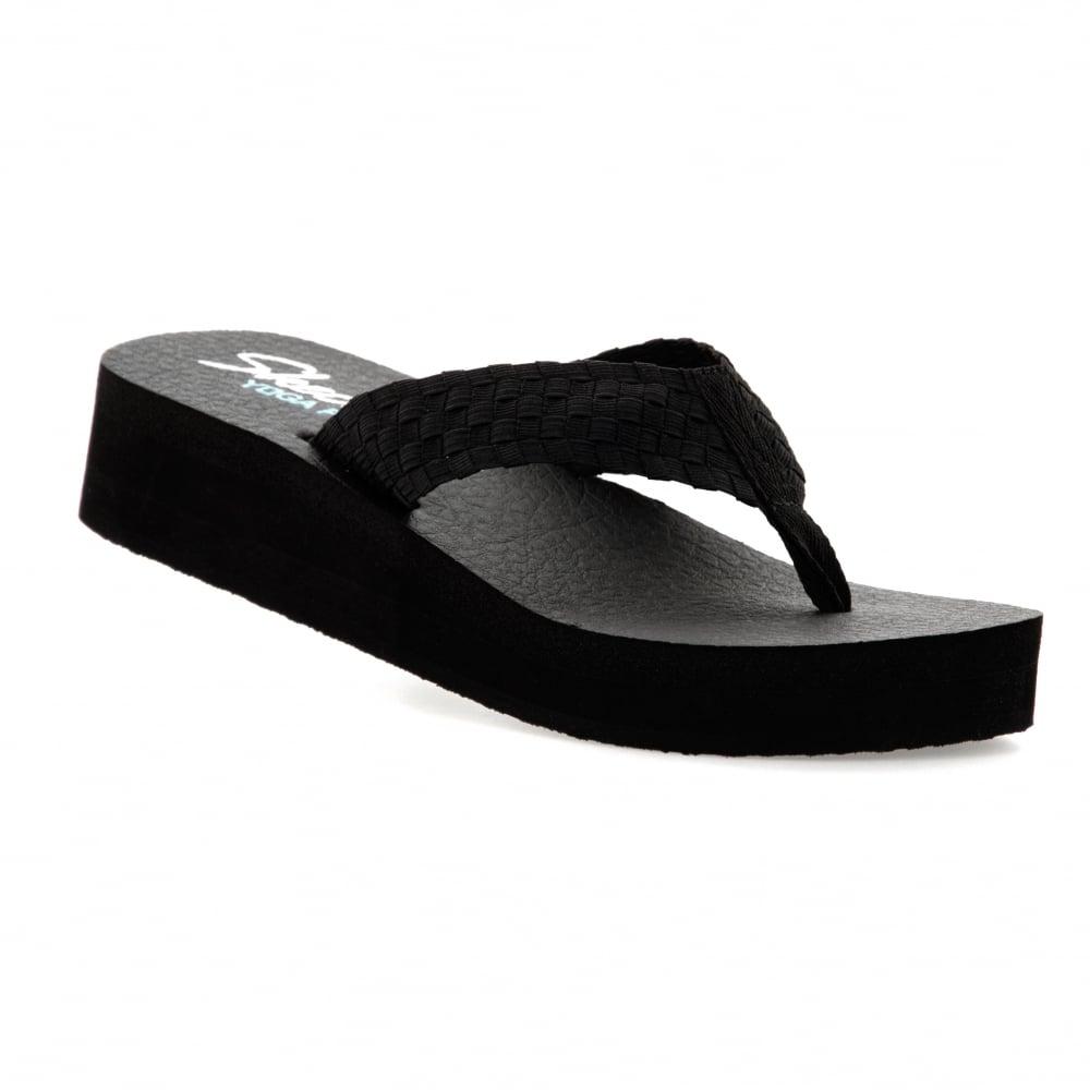 Brilliant Skechers Reggae Rockfest Sandals In Black For Women