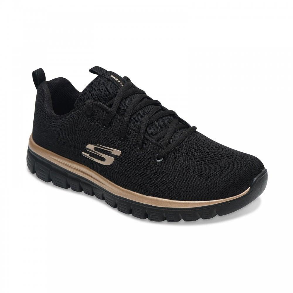 Shoes SKECHERS Get Connected 12615BKRG BlackRose Gold