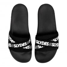 Slydes Mens Malibu Slides (Black)