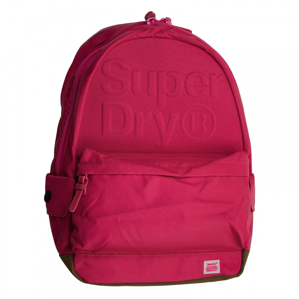 9ac35e7d6570 Superdry Lineman Embossed Montana Backpack (Pink) - Mens from Loofes UK