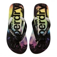Superdry Mens AOP Flip Flops (Multi)