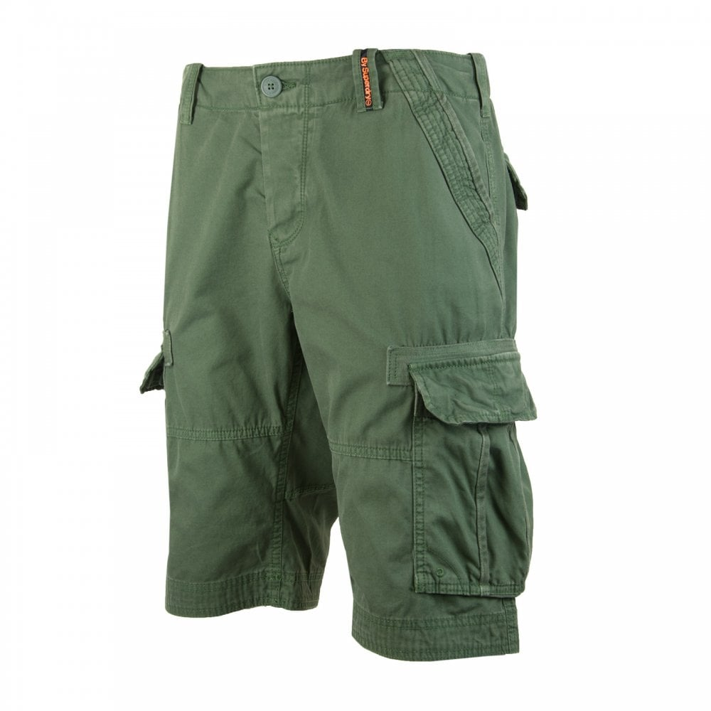 3991d022c1 Superdry Mens Cargo Lite Shorts (Green) - Mens from Loofes UK
