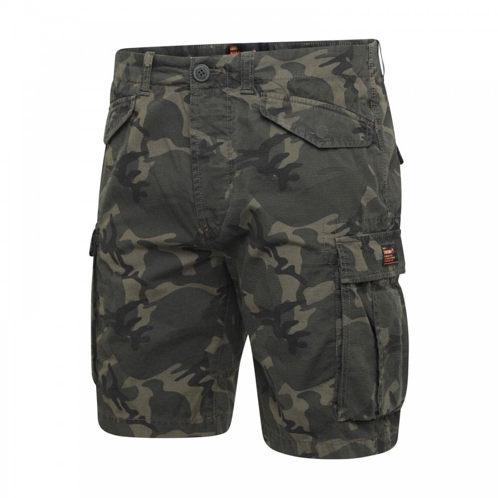 44cc557ce7 Superdry Mens Core Lite Ripstop Cargo Shorts (Camouflage) - Mens ...