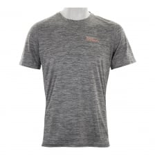 Superdry Mens Core Spacedye Training T-Shirt (Light Grey)