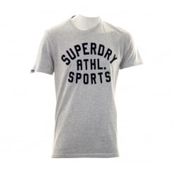 Superdry Mens Dry State T-Shirt (Concrete Marl)