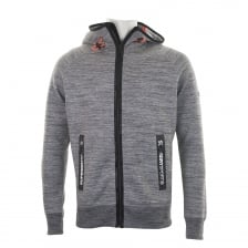 Superdry Mens Gym Tech Ziphood (Grey)