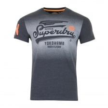 Superdry Mens High Flyers T-Shirt (Navy)
