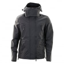 Superdry Mens Hooded Arctic Wind Attacker (Light Navy)