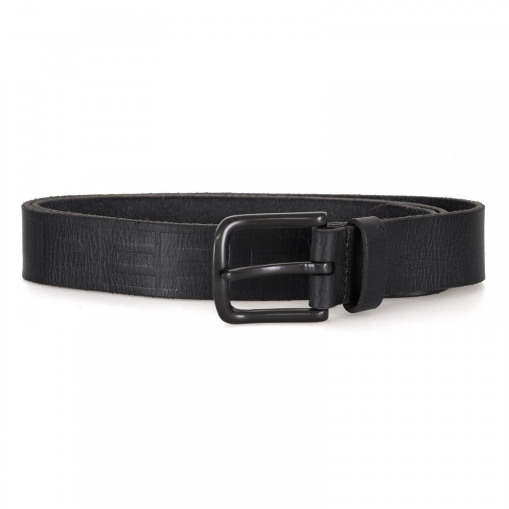 4d37fd9aa Superdry Mens Insider Leather Belt (Black) - Mens from Loofes UK
