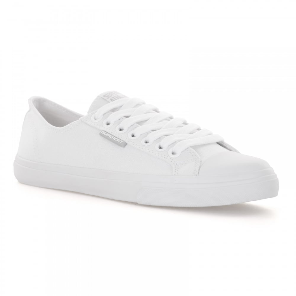 Mens Superdry Pro - Trainers - White KM15776