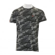 Superdry Mens Orange Label Camo Pocket T-Shirt (Grey)