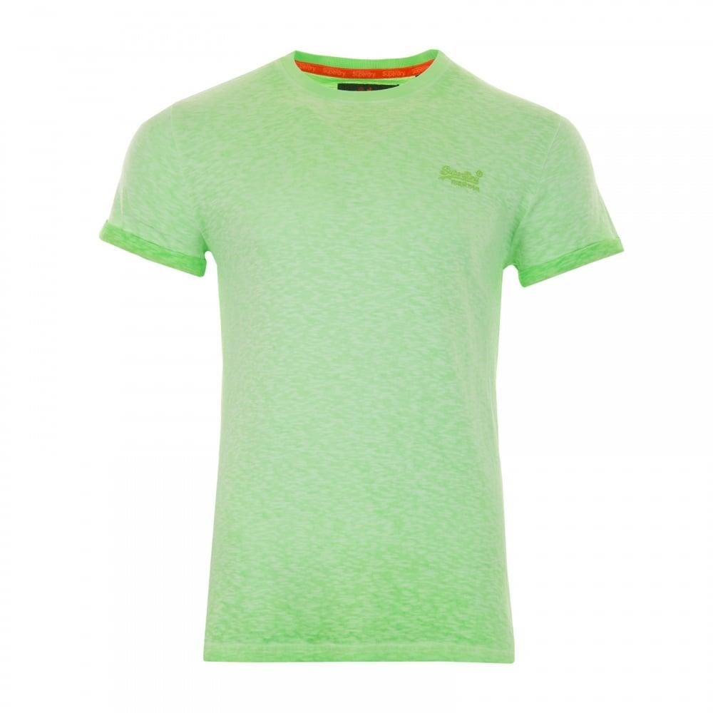 shopping more photos free shipping Mens Orange Label Low Roller T-Shirt (Green)
