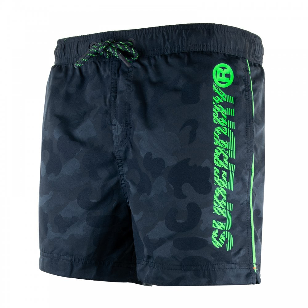 293b6fea6b Superdry Mens Pool Side Swim Shorts (Navy) - Mens from Loofes UK