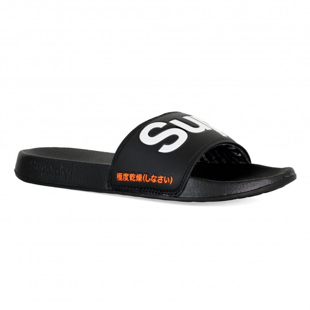 78045a6e46 Superdry Mens Pool Slides (Black) - Mens from Loofes UK