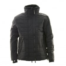 Superdry Mens Quilted Athletic Windcheater (Black)