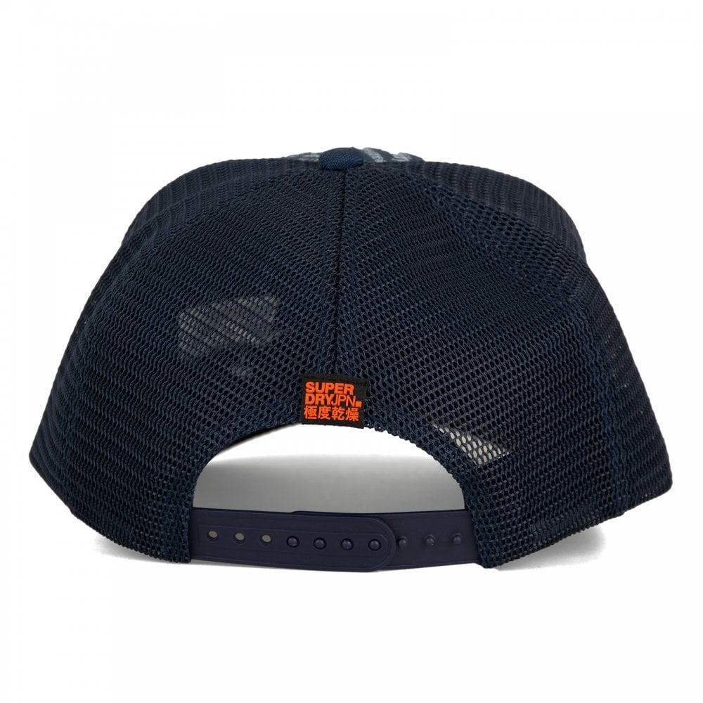 Superdry Mens SD Boy Cap (Navy) - Mens from Loofes UK 4a8e186363cb