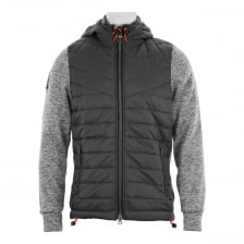 Superdry Mens Storm Hybrid Hoodies (Grey)