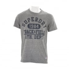 Superdry Mens Trackster T-Shirt (Grey)