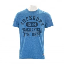 Superdry Mens Trackster T-Shirt (Royal)