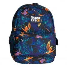 Superdry Mens Tropical Print Edition Montana Backpack (Blue)