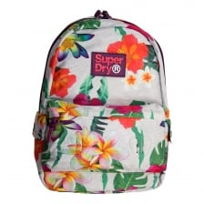 Superdry Mens Tropical Print Edition Montana Backpack (Grey)