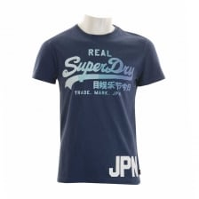 Superdry Mens Vintage Logo 1st T-Shirt (Blue)