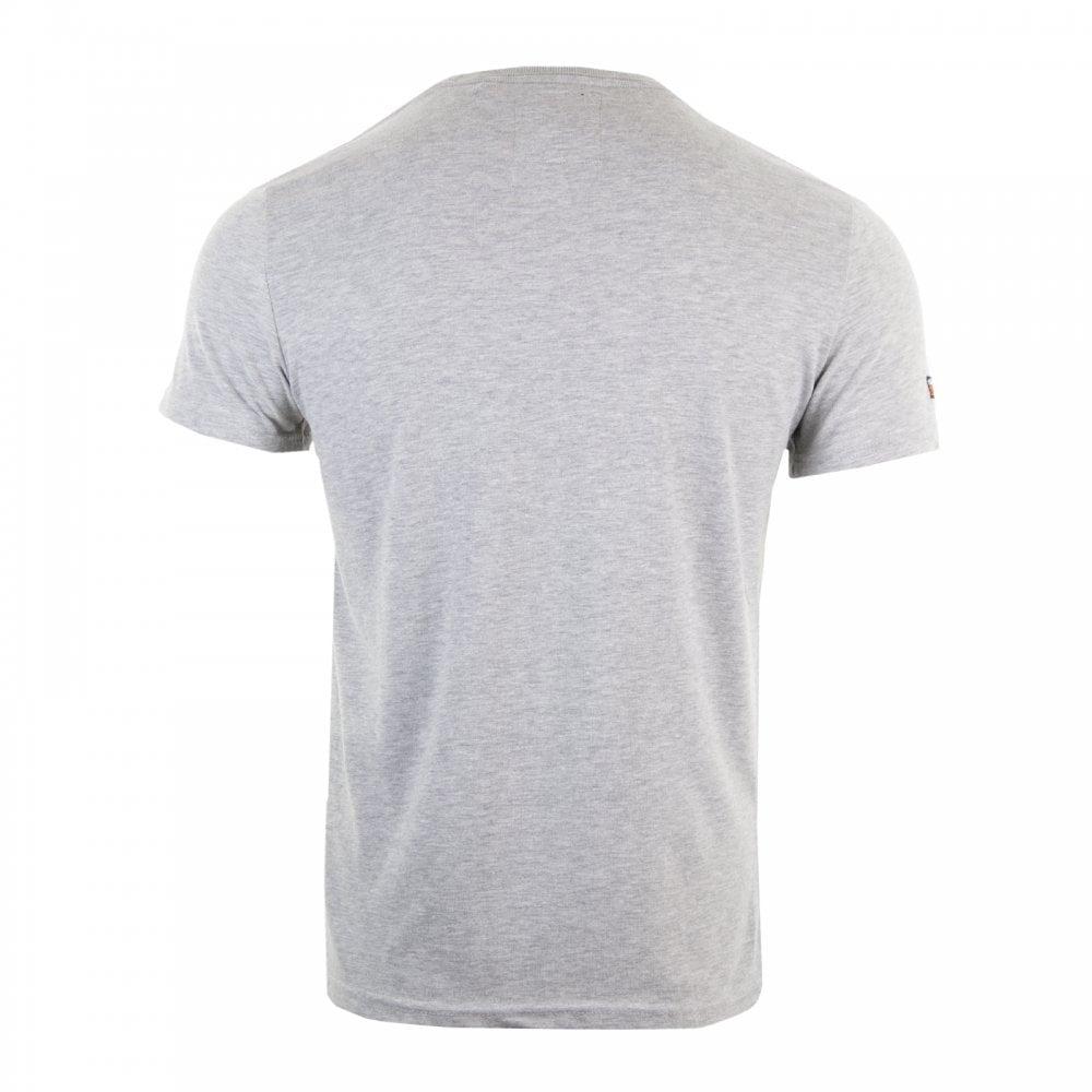3fb82b54d32ca Superdry Mens Vintage Logo Layered Camo T-Shirt (Grey) - Mens from ...