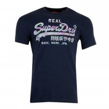 Superdry Mens Vintage Logo Multi Colour T-Shirt (Navy) bb77a9cff2a8