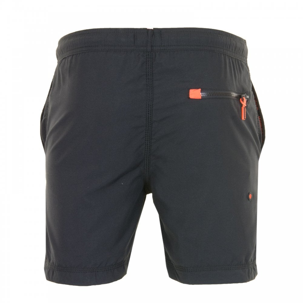 3034a88b1e Superdry Mens Waterpolo Swim Shorts (Black) - Mens from Loofes UK