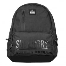 Superdry Surplus Goods Multizip Backpack (Black)