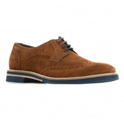 Ted Baker Mens Archer 2 Suede Shoes (Tan)
