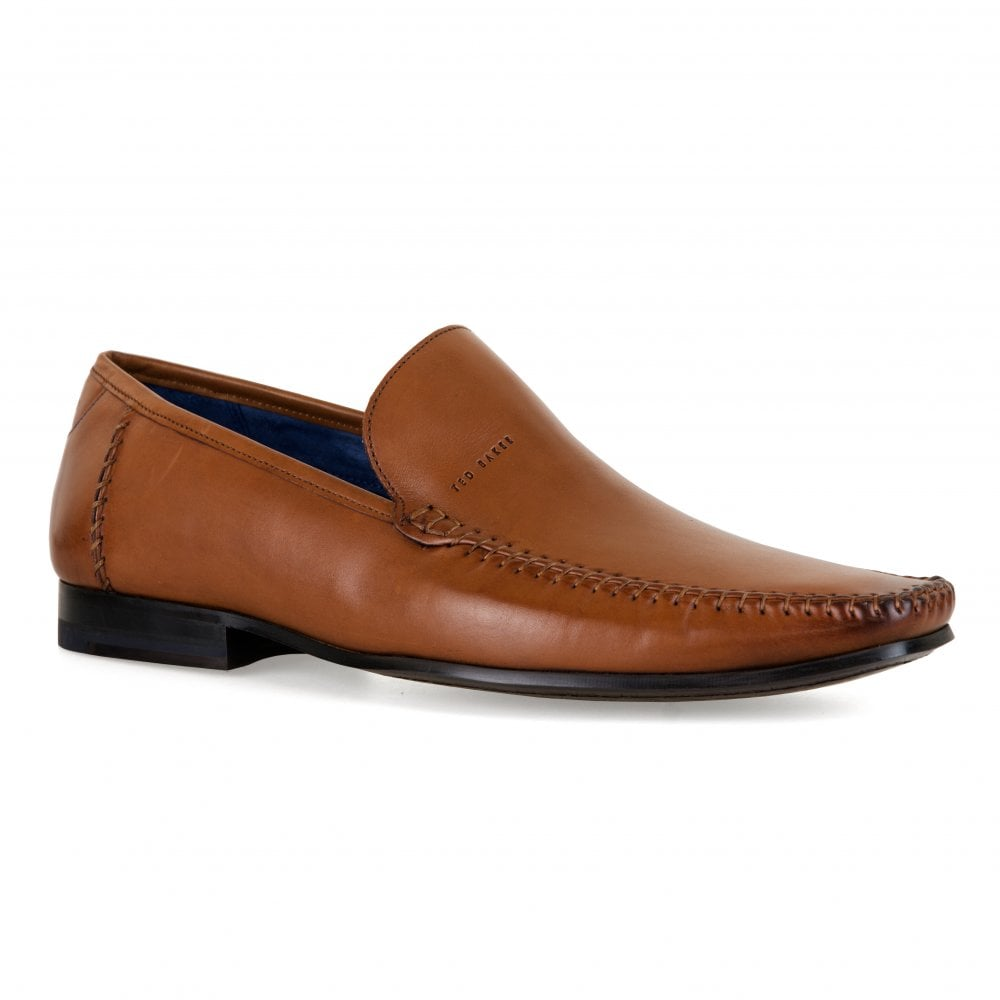 df14010aea5eba Ted Baker Mens Bly 9 Slip-On Shoes (Tan) - Mens from Loofes UK