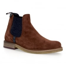 Ted Baker Mens Bronzo Suede Boots (Tan)