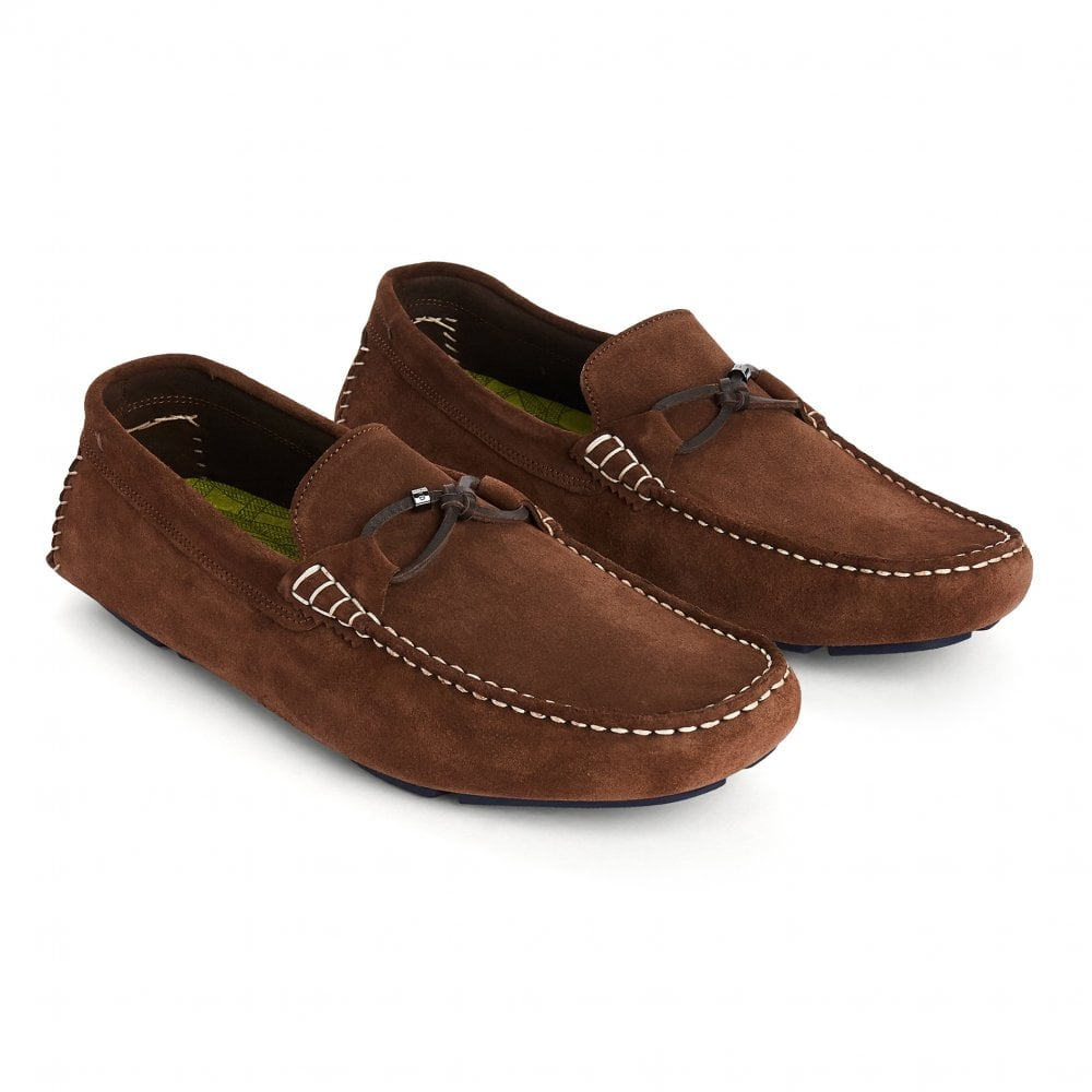 Ted Baker Mens Cottn Suede Driving