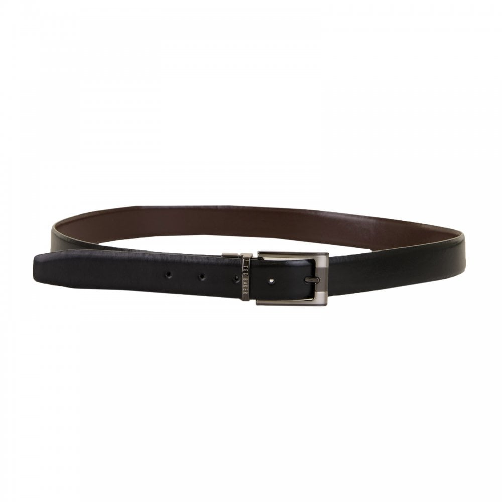 48d006dcceefe Ted Baker Mens Crafti Smart Reversible Belt (Black Brown) - Mens ...